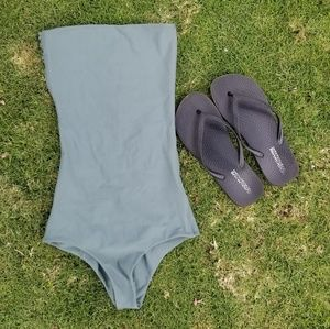 Mikoh Swim - {nwot} mikoh • antigua strapless one piece